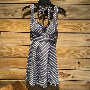 Striped sundress, size 7